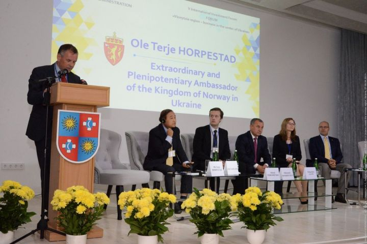 Delegation of the International Trade Club visited the Vinnytsia region
